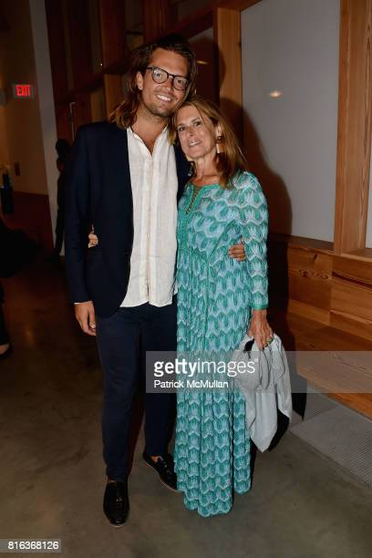 Nicholas Ritting and Betsy Ross attend the Midsummer Party 2017 at Parrish Art Museum on July 15 2017 in Water Mill New York