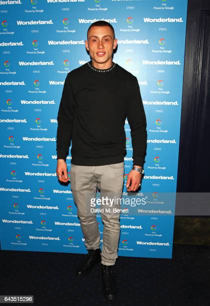 Nicholas Sinclair attends the Wonderland Magazine x Google Pixel party at Tramp on February 21 2017 in London England