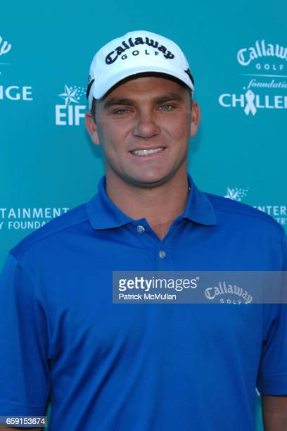 Nicholas Thompson attends Callaway Golf Foundation Challenge Benefitting Entertainment Industry Foundation Cancer Research Programs at Riviera...