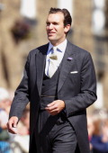 Nicholas van Cutsem attends the wedding of Lady Melissa Percy and Thomas Van Straubenzee at St Michael's Church on June 22 2013 in Alnwick England