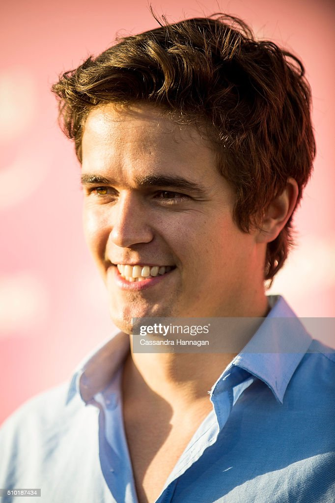 Nicholas Westaway arrives at Tropfest at Centennial Park on February 14, 2016 in Sydney, Australia.