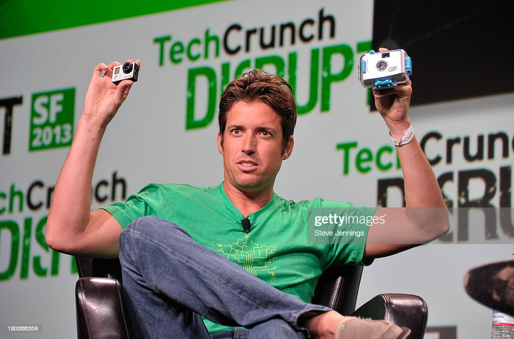 Nicholas Woodman of GoPro attends Day 3 of TechCrunch Disrupt SF 2013 at San Francisco Design Center on September 11, 2013 in San Francisco, California.