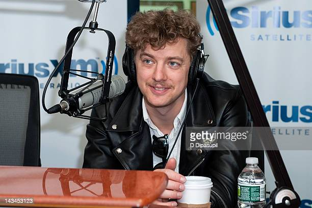 Nicholaus Arson of The Hives visits SiriusXM Studio on April 26 2012 in New York City