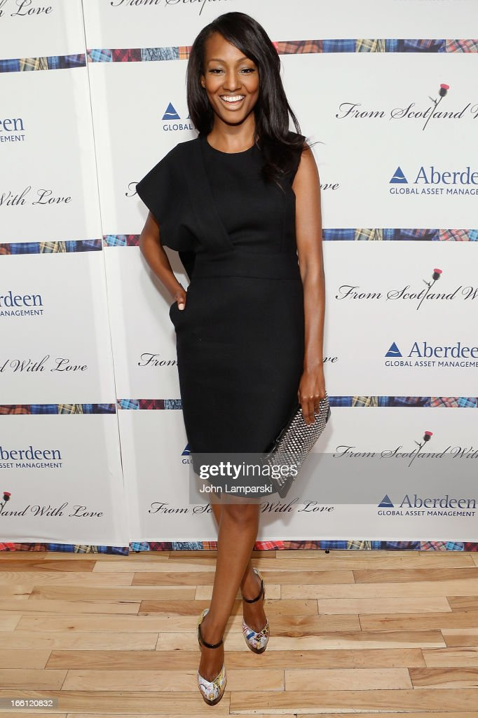 Nichole Galecia attends the 2013 From Scotland With Love Charity Fashion Show at Stage 48 on April 8, 2013 in New York City.