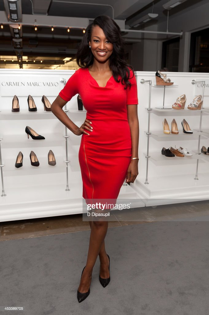 Nichole Galicia attends the H.H. Brown Shoe Company Season Of Giving Holiday Party on December 3, 2013 in New York City.