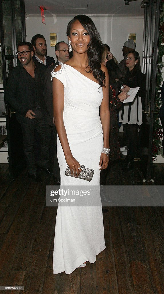 Nichole Galicia attends The Weinstein Company with The Hollywood Reporter, Samsung Galaxy & The Cinema Society screening of 'Django Unchained' after party at the The Standard Hotel on December 11, 2012 in New York City.