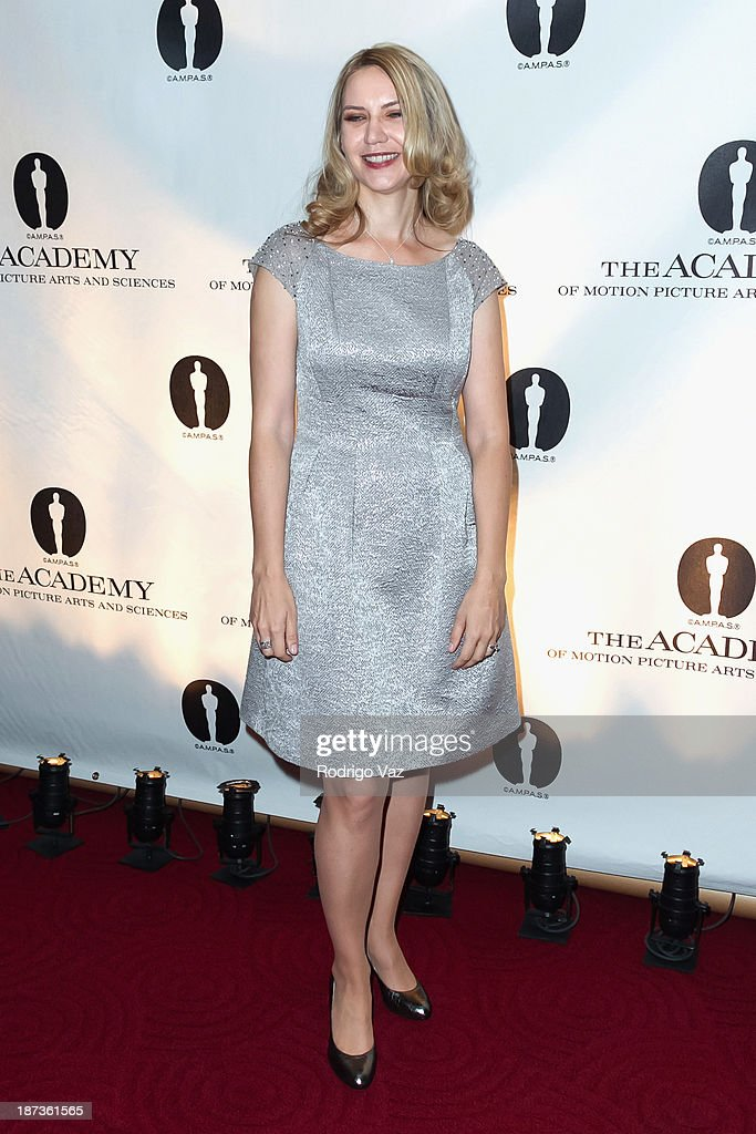 Nicholl Fellow Barbara Stepansky attends the 2013 Academy Nicholl Fellowships In Screenwriting Awards hosted by AMPAS at AMPAS Samuel Goldwyn Theater on November 7, 2013 in Beverly Hills, California.