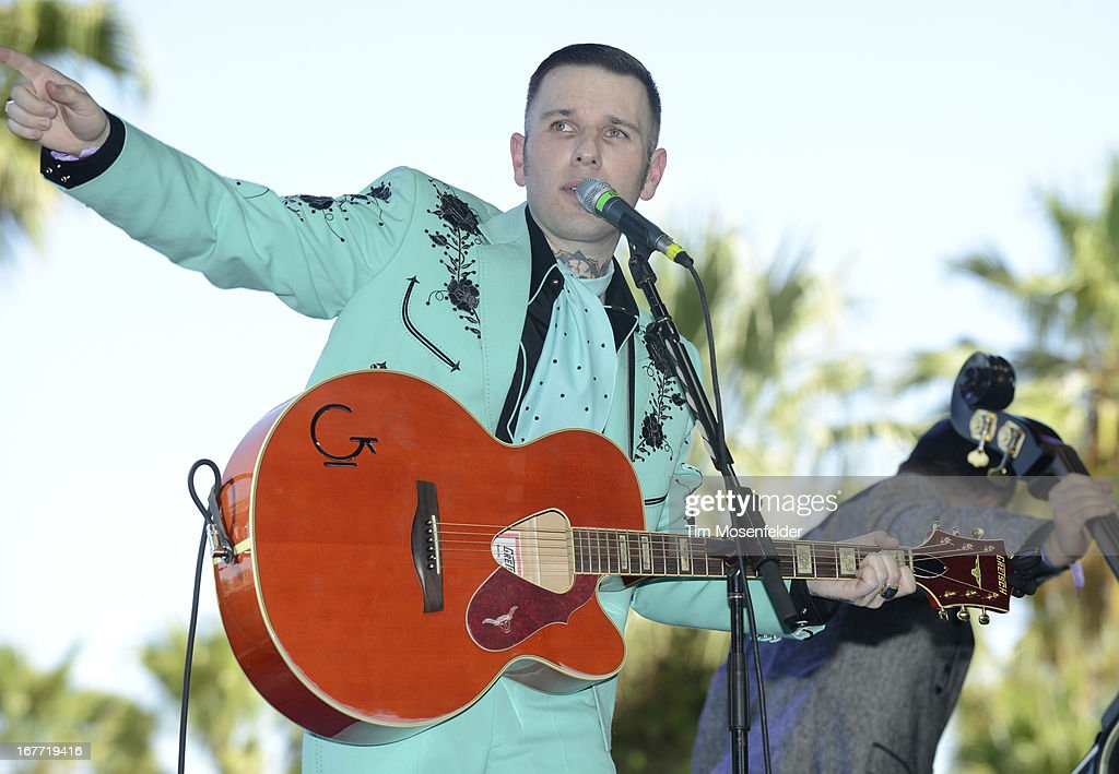 Nick 13 performs as part of the Stagecoach Music Festival at the Empire Polo Grounds on April 27, 2013 in Indio, California.