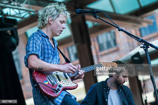 Nick Allbrook performs at St Jerome's Laneway Festival on January 26 2017 in Brisbane