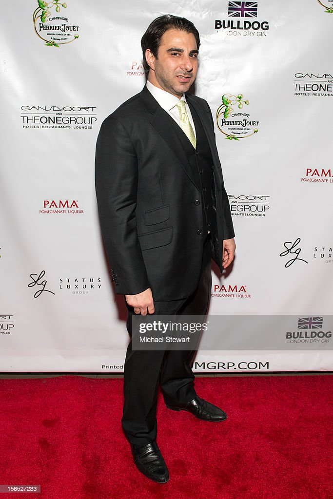 Nick Andreottola attends Celebrate Your Status 2012 by the Happy Hearts Fund at Gansevoort Park Hotel on December 17, 2012 in New York City.