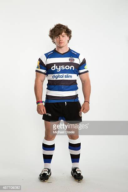 Nick Auterac of Bath poses for a picture during the BT Photo Shoot at Farleigh House on August 28 2014 in Bath England