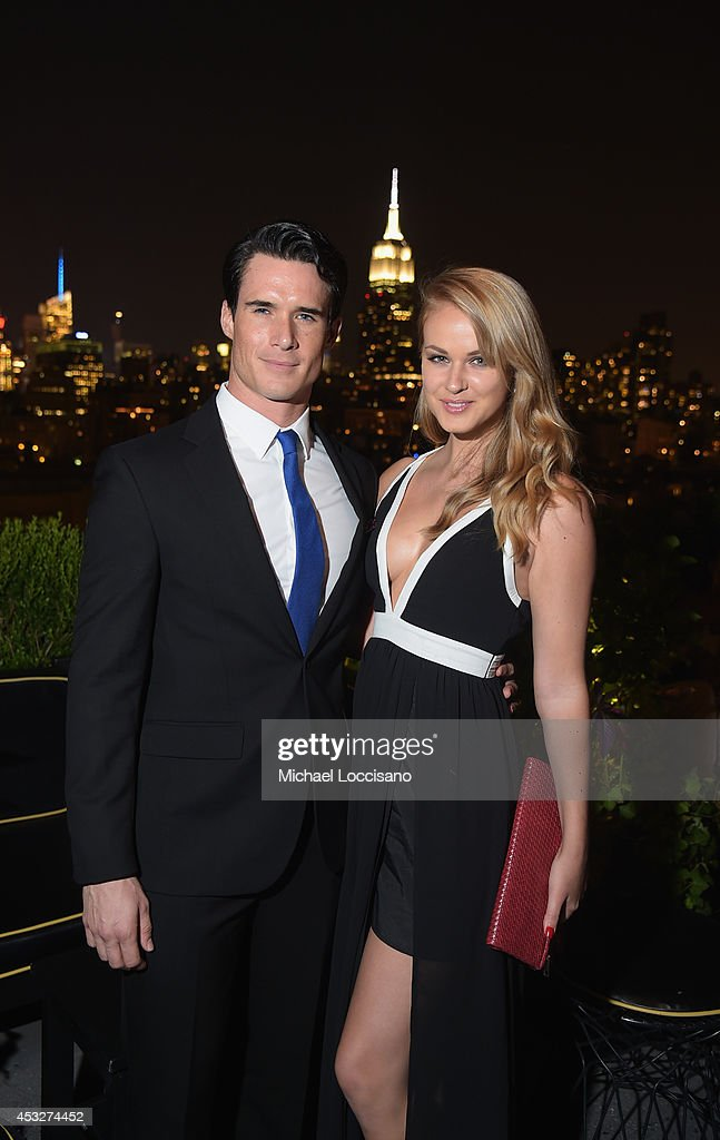 Nick Ballard and Natalie Fabry attend the 2nd Annual Lexus Short Films 'Life is Amazing' After Party presented by The Weinstein Company and Lexus at Dream Downtown on August 6, 2014 in New York City.