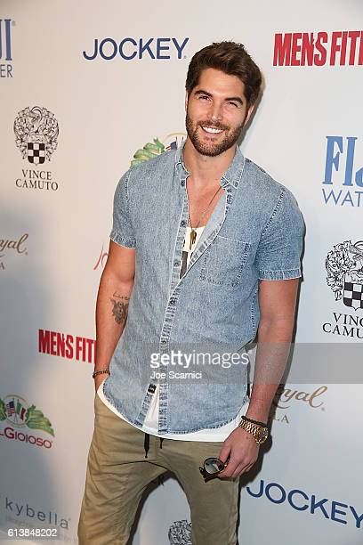 Nick Bateman arrives at the Men's Fitness Game Changers Celebration at Sunset Tower Hotel on October 10 2016 in West Hollywood California