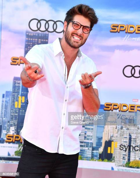 Nick Bateman arrives at the Premiere Of Columbia Pictures' 'SpiderMan Homecoming' at TCL Chinese Theatre on June 28 2017 in Hollywood California