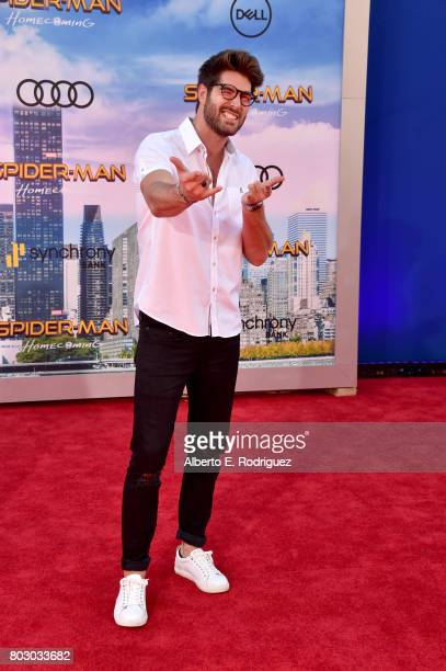 Nick Bateman attends the premiere of Columbia Pictures' 'SpiderMan Homecoming' at TCL Chinese Theatre on June 28 2017 in Hollywood California
