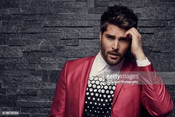 Nick Bateman is photographed for Rogue Magazine on October 26 2016 in Los Angeles California