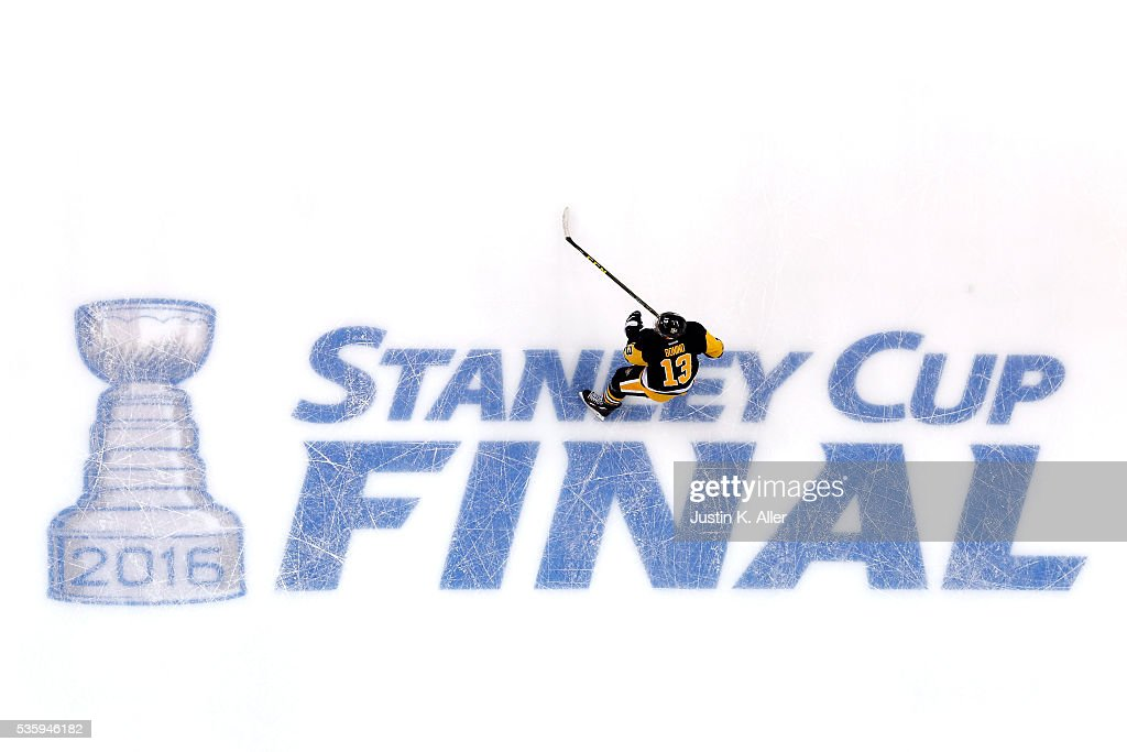 <a gi-track='captionPersonalityLinkClicked' href=/galleries/search?phrase=Nick+Bonino&family=editorial&specificpeople=5805660 ng-click='$event.stopPropagation()'>Nick Bonino</a> #13 of the Pittsburgh Penguins skates after the Penguins defeated the San Jose Sharks 3-2 in Game One of the 2016 NHL Stanley Cup Final at Consol Energy Center on May 30, 2016 in Pittsburgh, Pennsylvania.