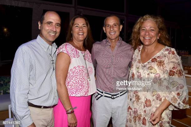 Nick Botta Tracy Annacone Robert Kohr and Laura MacGarva attend Sixth Annual Hamptons Paddle and Party for Pink Benefitting the Breast Cancer...