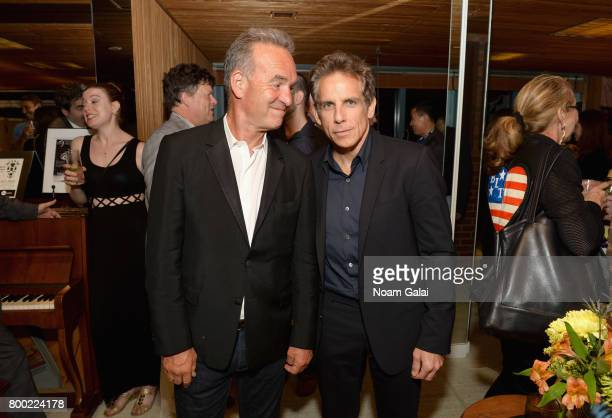 Nick Broomfield and Ben Stiller attend the Friday Night Party during 2017 Nantucket Film Festival Day 3 on June 23 2017 in Nantucket Massachusetts