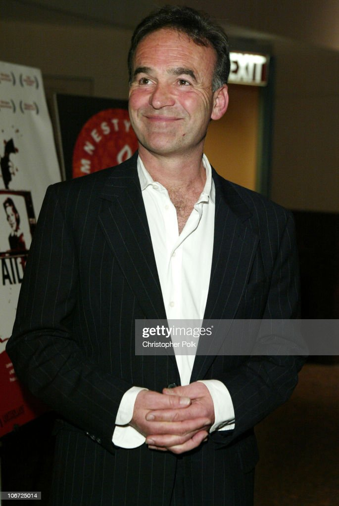 Nick Broomfield, co-director during Charlize Theron Hosts a Benefit Screening of Aileen: Life and Death of a Serial Killer to Benefit Amnesty International at Museum of Tolerance in Los Angeles, California, United States.