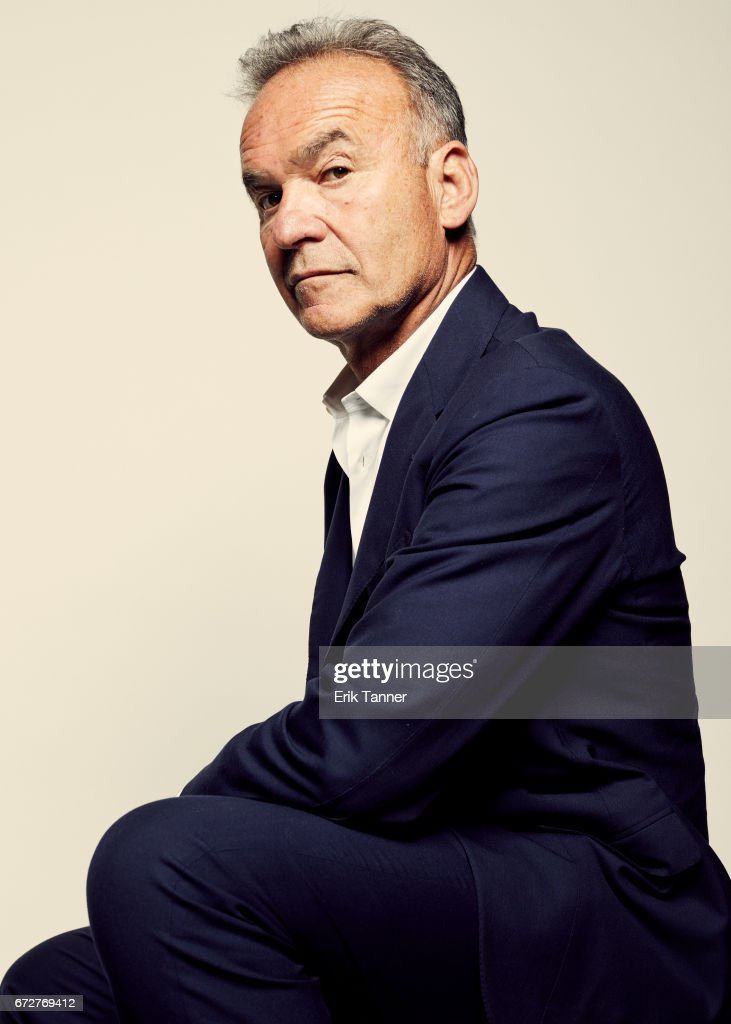 Nick Broomfield from 'Whitney: Can I Be Me' poses at the 2017 Tribeca Film Festival portrait studio on April 24, 2017 in New York City.
