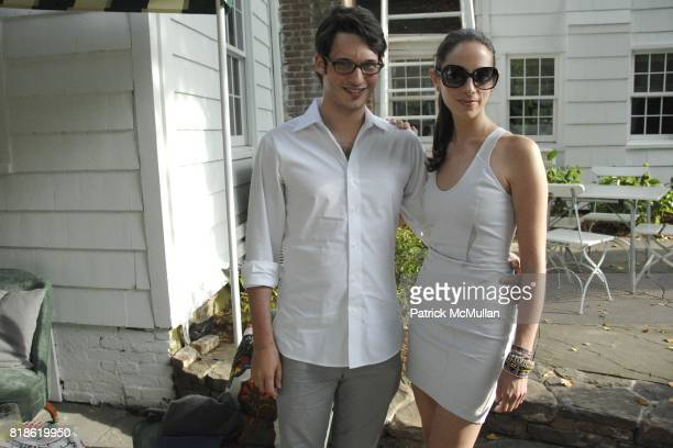 Nick Brown and Dalia Oberlander attend C/O The Maidstone kicks off The Last Song of Summer for the Watermill Center at The Maidstone on June 5 2010