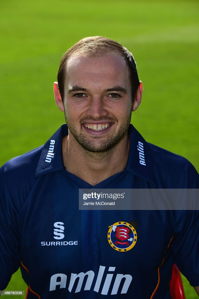Nick Browne of Essex poses during an Essex CCC Photocall on April 7 2015 in Chelmsford England