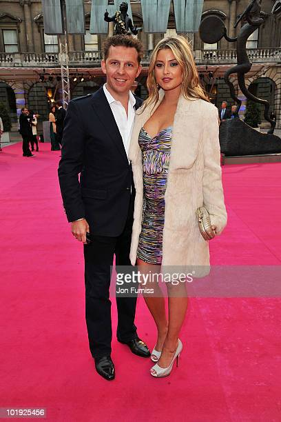 Nick Candy and Holly Valance attend the Royal Academy Summer Exhibiton 2010 VIP preview at the Royal Academy of Arts on June 9 2010 in London England