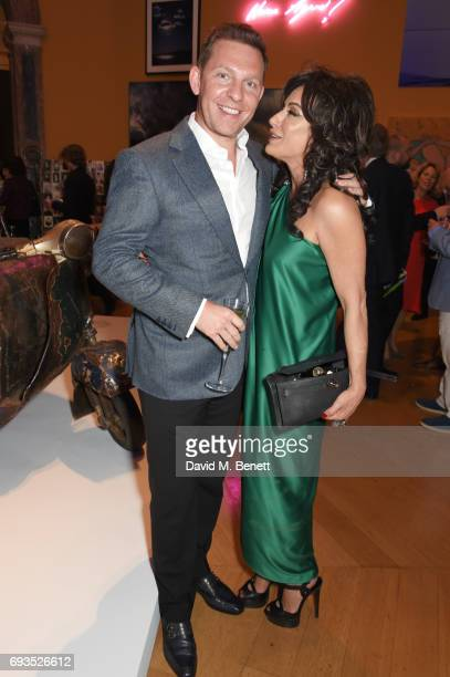 Nick Candy and Nancy Dell'Olio attend the Royal Academy Of Arts Summer Exhibition preview party at Royal Academy of Arts on June 7 2017 in London...