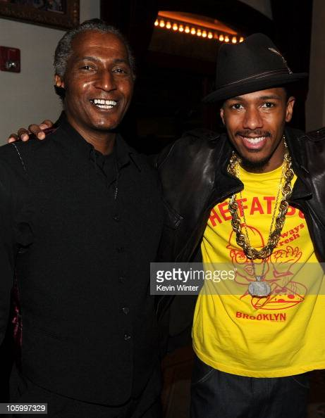 Nick Cannon and his father...