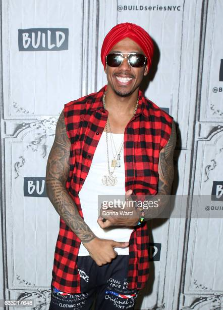 Nick Cannon appears to promote 'Hold On' during the BUILD Series at Build Studio on January 31 2017 in New York City