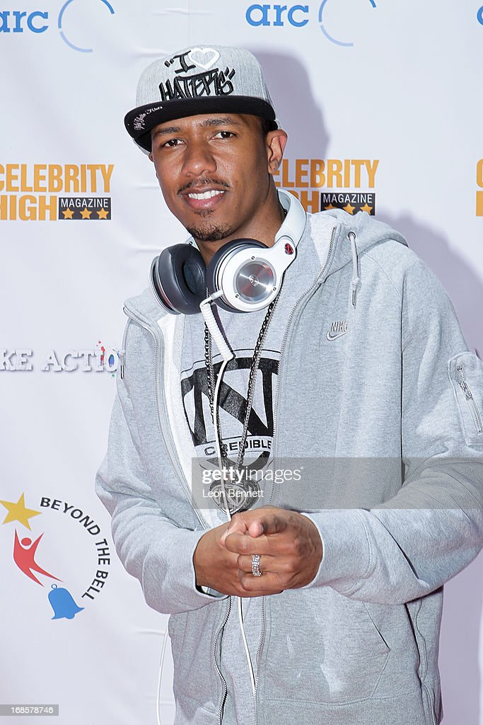 <a gi-track='captionPersonalityLinkClicked' href=/galleries/search?phrase=Nick+Cannon&family=editorial&specificpeople=202208 ng-click='$event.stopPropagation()'>Nick Cannon</a> arrived at LAUSD's Beyond The Bell Branch And <a gi-track='captionPersonalityLinkClicked' href=/galleries/search?phrase=Nick+Cannon&family=editorial&specificpeople=202208 ng-click='$event.stopPropagation()'>Nick Cannon</a>s Celebrity High Present 'Spotlight On Success' at Paramount Studios on May 11, 2013 in Hollywood, California.