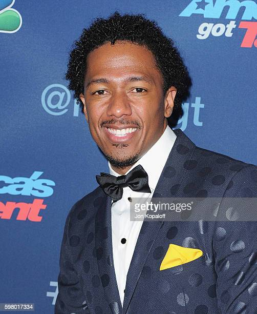 Nick Cannon arrives at 'America's Got Talent' Season 11 Live Show at Dolby Theatre on August 30 2016 in Hollywood California