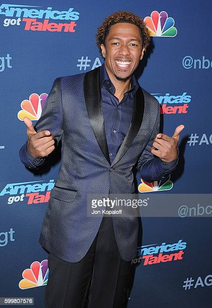 Nick Cannon arrives at 'America's Got Talent' Season 11 Live Show at Dolby Theatre on September 6 2016 in Hollywood California
