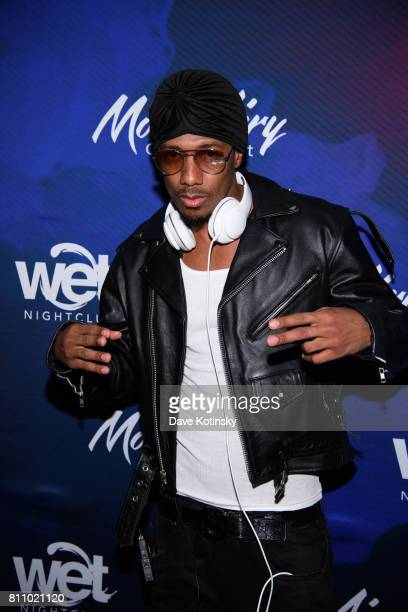 Nick Cannon arrives at Mount Airy Casino Resort on July 8 2017 in Mount Pocono Pennsylvania Mount Airy Casino Resort Pennsylvania's first AAA Four...