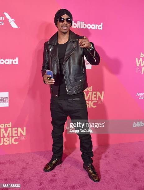 Nick Cannon arrives at the Billboard Women In Music 2017 at The Ray Dolby Ballroom at Hollywood Highland Center on November 30 2017 in Hollywood...