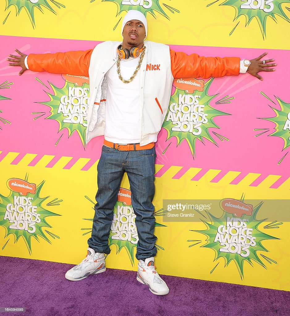 Nick Cannon arrives at the Nickelodeon's 26th Annual Kids' Choice Awards at USC Galen Center on March 23, 2013 in Los Angeles, California.