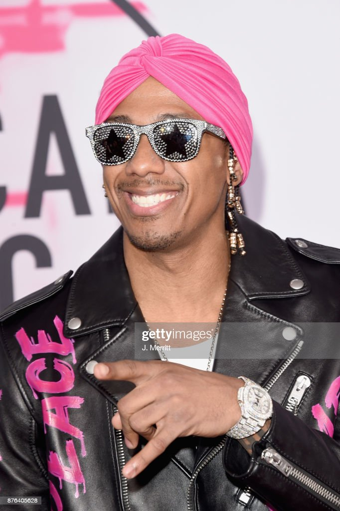 Nick Cannon attends 2017 American Music Awards at Microsoft Theater on November 19, 2017 in Los Angeles, California.