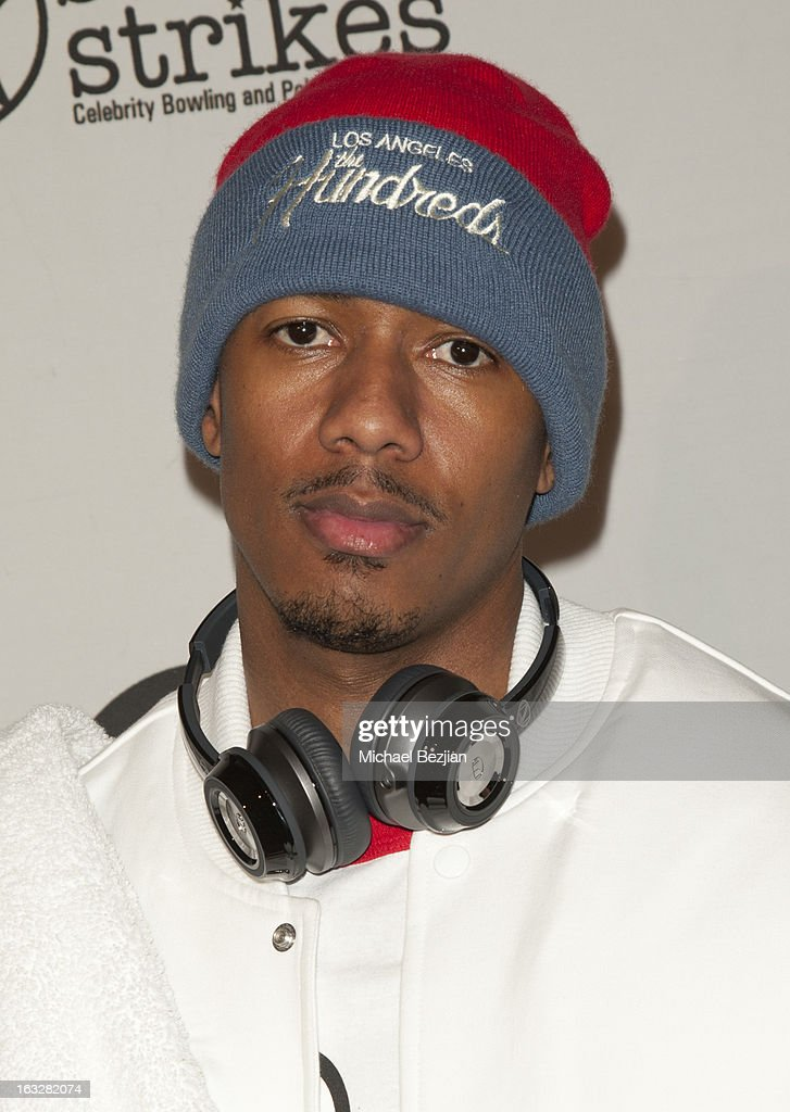 <a gi-track='captionPersonalityLinkClicked' href=/galleries/search?phrase=Nick+Cannon&family=editorial&specificpeople=202208 ng-click='$event.stopPropagation()'>Nick Cannon</a> attends 7th Annual 'Stars & Strikes' Celebrity Bowling And Poker Tournament Benefiting A Place Called Home at PINZ Bowling & Entertainment Center on March 6, 2013 in Studio City, California.