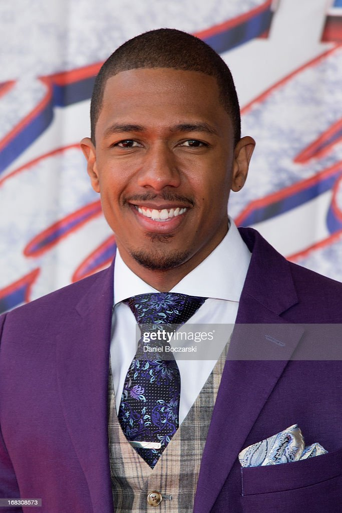 <a gi-track='captionPersonalityLinkClicked' href=/galleries/search?phrase=Nick+Cannon&family=editorial&specificpeople=202208 ng-click='$event.stopPropagation()'>Nick Cannon</a> attends 'America's Got Talent' Season 8 Meet The Judges Red Carpet Event at Akoo Theatre at Rosemont on May 8, 2013 in Rosemont, Illinois.