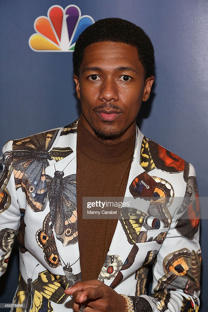 <a gi-track='captionPersonalityLinkClicked' href=/galleries/search?phrase=Nick+Cannon&family=editorial&specificpeople=202208 ng-click='$event.stopPropagation()'>Nick Cannon</a> attends 'America's Got Talent' season 9 post show red carpet event at Radio City Music Hall on August 6, 2014 in New York City.