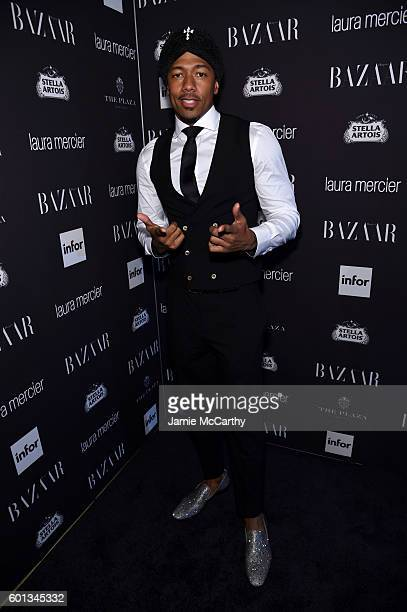 Nick Cannon attends Harper's Bazaar's celebration of 'ICONS By Carine Roitfeld' presented by Infor Laura Mercier and Stella Artois at The Plaza Hotel...