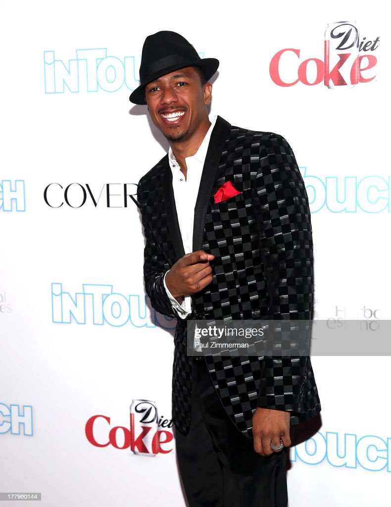 <a gi-track='captionPersonalityLinkClicked' href=/galleries/search?phrase=Nick+Cannon&family=editorial&specificpeople=202208 ng-click='$event.stopPropagation()'>Nick Cannon</a> attends In Touch Weekly's 2013 Icons & Idols event at FINALE Nightclub on August 25, 2013 in New York City.