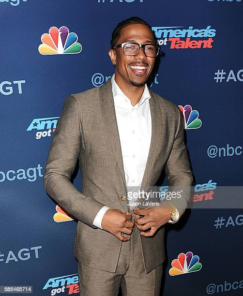 Nick Cannon attends NBC's 'America's Got Talent' season 11 live show at Dolby Theatre on August 2 2016 in Hollywood California