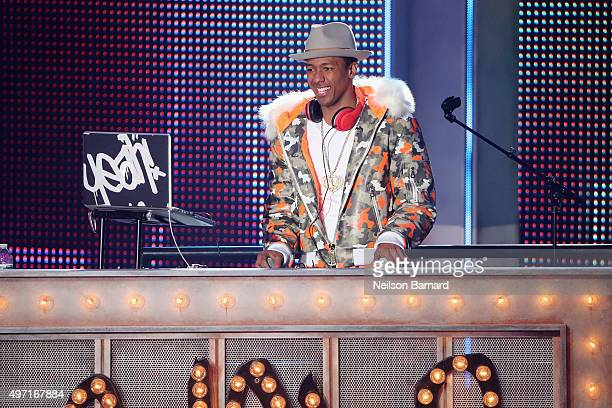 Nick Cannon attends the 2015 Nickelodeon HALO Awards at Pier 36 on November 14 2015 in New York City