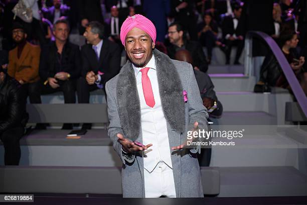 Nick Cannon attends the 2016 Victoria's Secret Fashion Show on November 30 2016 in Paris France
