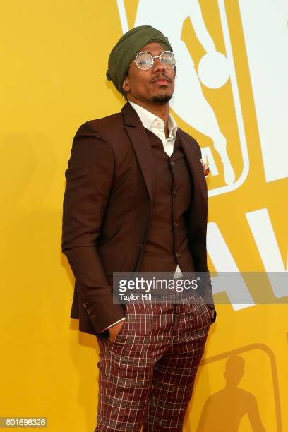 Nick Cannon attends the 2017 NBA Awards at Basketball City Pier 36 South Street on June 26 2017 in New York City