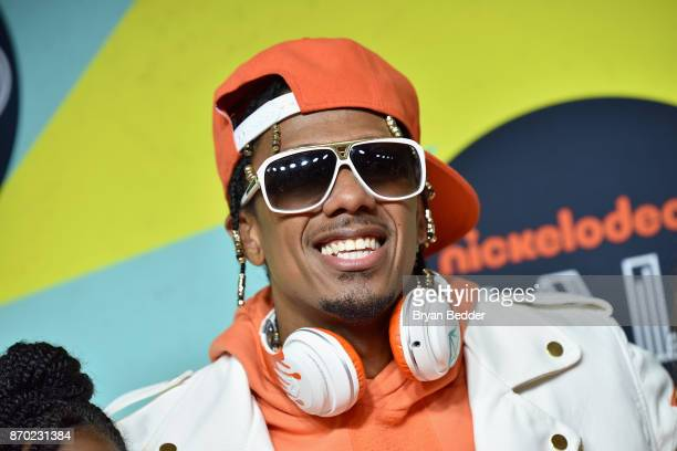 Nick Cannon attends the 2017 Nickelodeon Halo Awards at Pier 36 on November 4 2017 in New York City