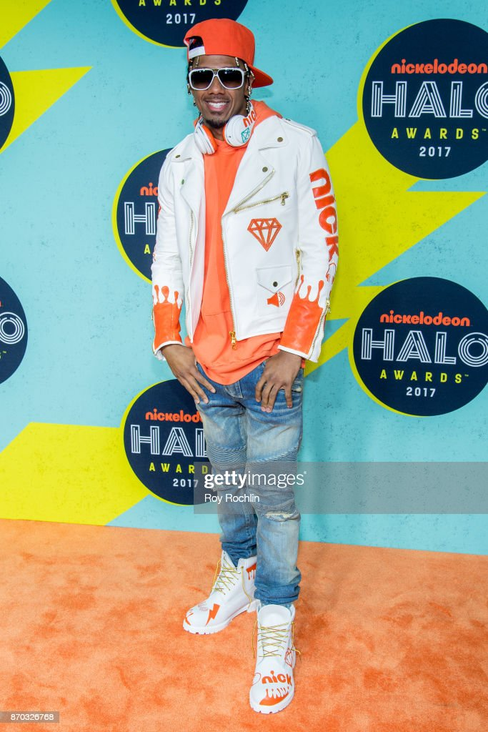 Nick Cannon attends the 2017 Nickelodeon Halo Awards at Pier 36 on November 4, 2017 in New York City.