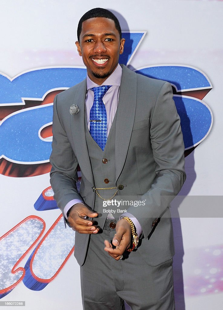 Nick Cannon attends the 'America's Got Talent' New York Auditions at Rockefeller Center on April 8, 2013 in New York City.